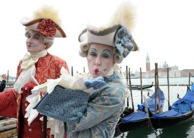 The annual Venice Carnival attracts large numbers of tourists to the city.