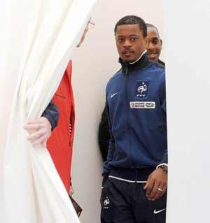 Patrice Evra has 'worked like a madman' to earn his recall to the France squad