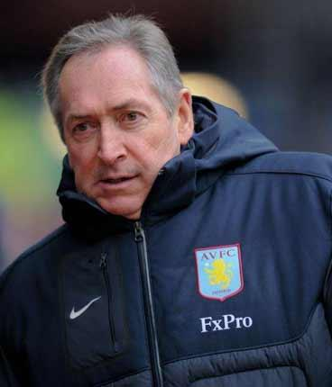 Gérard Houllier's tenure has seen Aston Villa drop to one point above the relegation zone