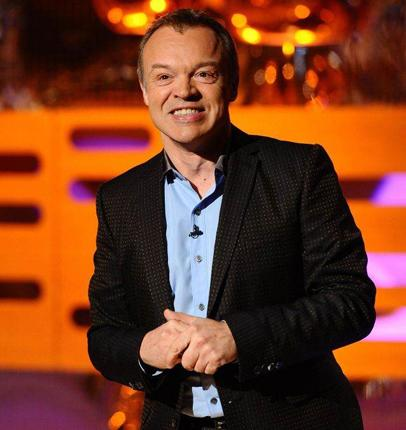 Graham Norton on a rumoured rival show by Claudia Winkleman: 'Is hers a chat show? No, it's not. It's a totally different thing. And it hasn't even been commissioned yet. I'm not concerned in the slightest'