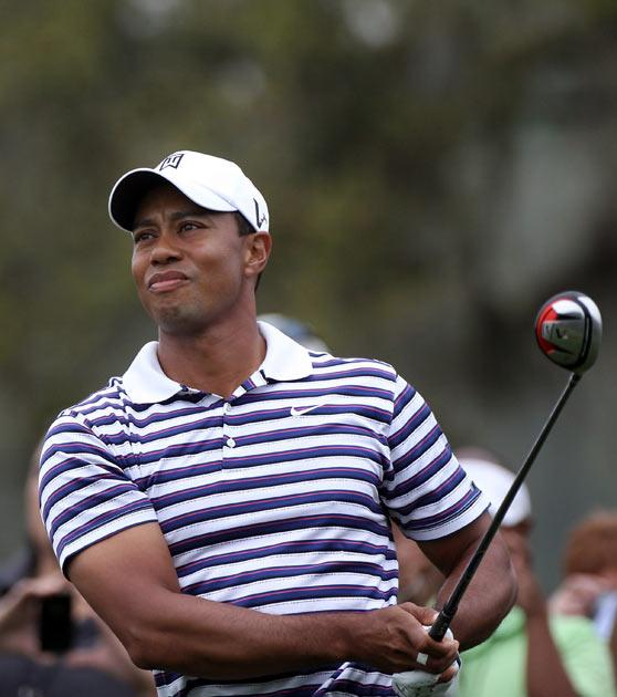 Woods is building up to the Masters