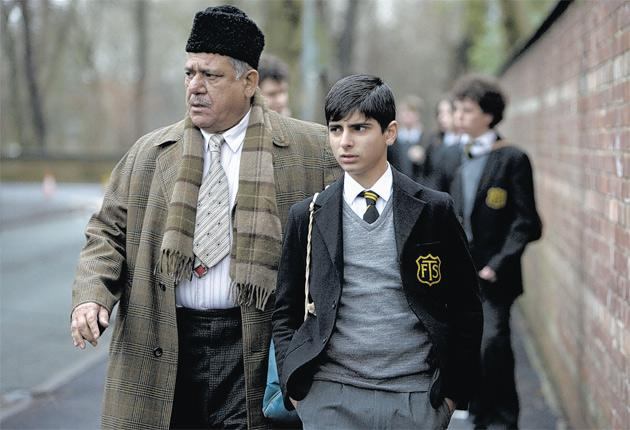 Eastern promise: Om Puri and Aqib Khan in West is West