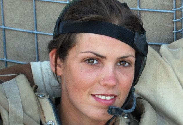 L/Cpl Kylie Watson is thought to be only the fourth woman to be awarded the MC