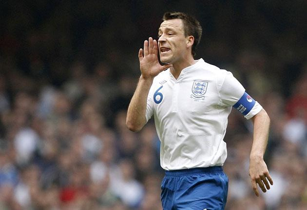 Terry's remarkable record as England skipper is maintained - the nation have lost only two of the 20 games in which he has been captain