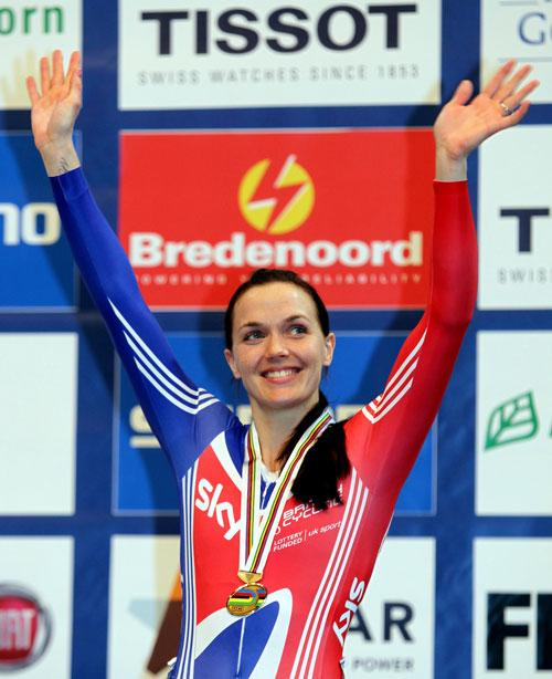Victoria Pendleton could only manage bronze in the sprint