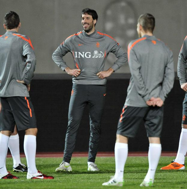 Ruud van Nistelrooy has been with the Dutch squad