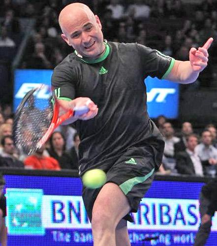 Andre Agassi would be a perfect coach for Andy Murray but the Scottish player may find it hard to convince him to take on the job