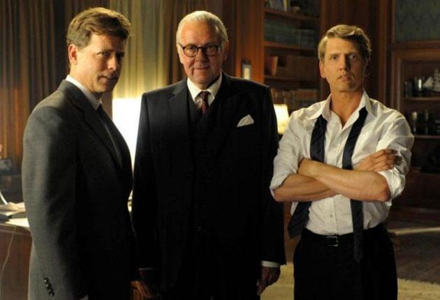 Greg Kinnear, Tom Wilkinson and Barry Pepper in 'The Kennedys'