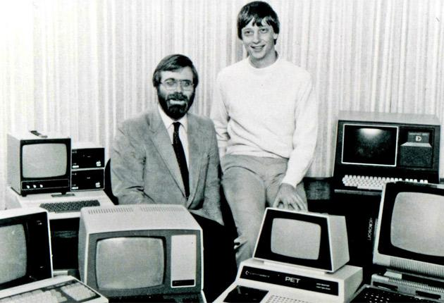 Paul Allen, left, says he was 'taken aback' by Bill Gates, right, cutting Allen's stake in the company