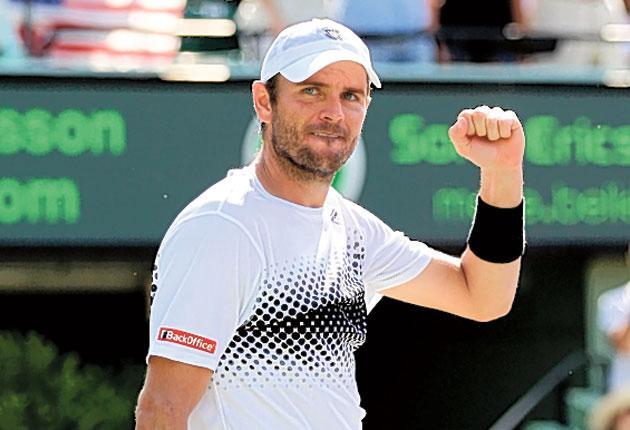 Mardy Fish will now play Novak Djokovic in the semi-finals