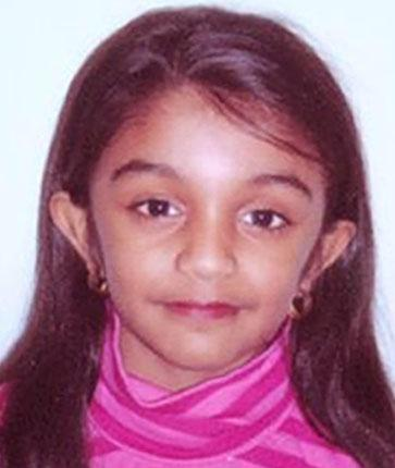 Thursha Kamaleswaran, five, is critically ill after she was shot while visiting her uncle's shop in Stockwell, London