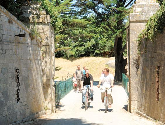 Ride on: the car-free Ile d'Aix is perfect for cycling