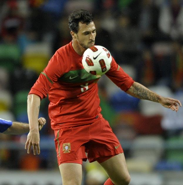 Almeida pictured in action against Finland