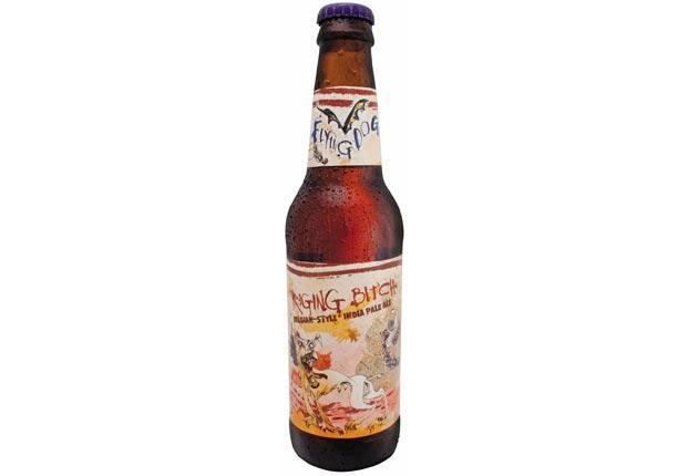 Cartoonist Ralph Steadman's design for 'Raging Bitch' beer was banned