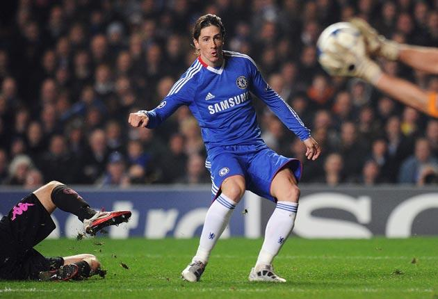 Torres has endured 498 minutes for Chelsea without a goal, but the malaise has spread to his fellow strikers