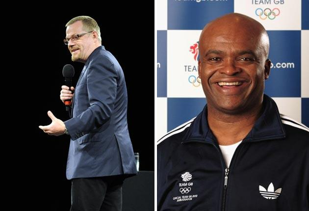 Comedian Eddie Izzard and former Olympic athlete Kriss Akabusi are to spearhead the Yes campaign