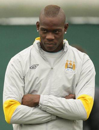Mario Balotelli has not played for club or country since he was sent off last month