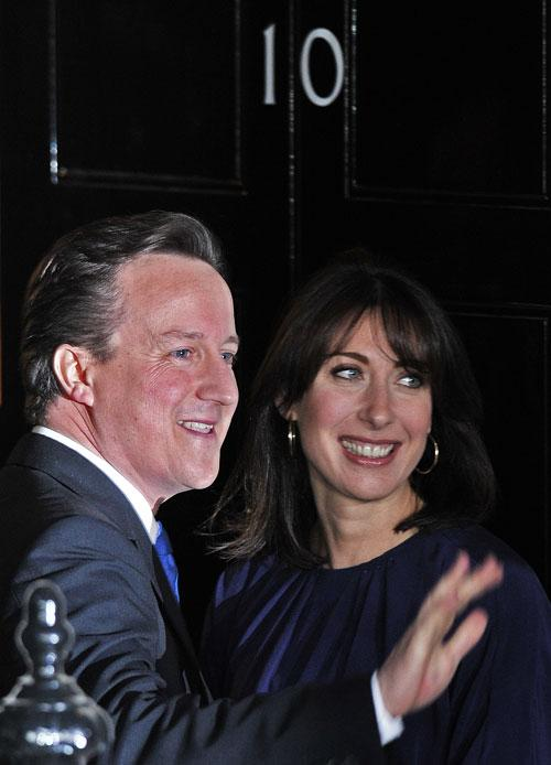 Sam Cam is as strong an influence on the PM as David Cameron's inner circle of four