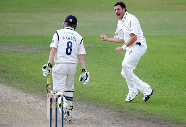 Paul Franks' efforts helped Nottinghamshire to the title