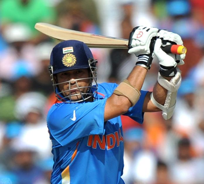 <b>Sachin Tendulkar</b><br/> An inevitable pick. Tendulkar batted as well as he did in the 1996 World Cup, when he was top scorer. He was 18 runs off being so in 2011, and his centuries against England and South Africa were both magisterial, showing how d