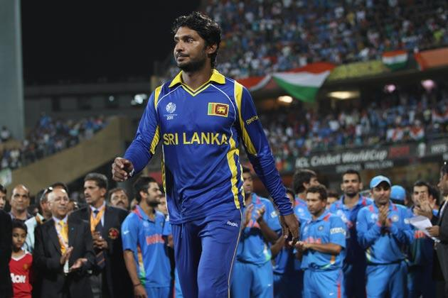 Kumar Sangakkara saw his side lose to India in the World Cup final