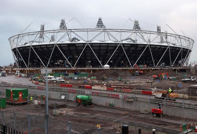 The Olympic Stadium at Stratford