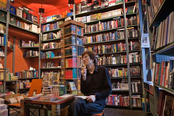 Turning a new page in Russian literature: A bookshop and cafe in Moscow today