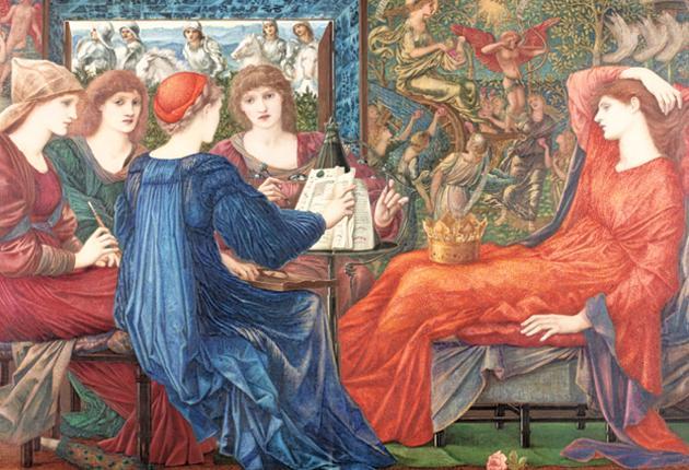 Laus Veneris' by Edward Burne-Jones