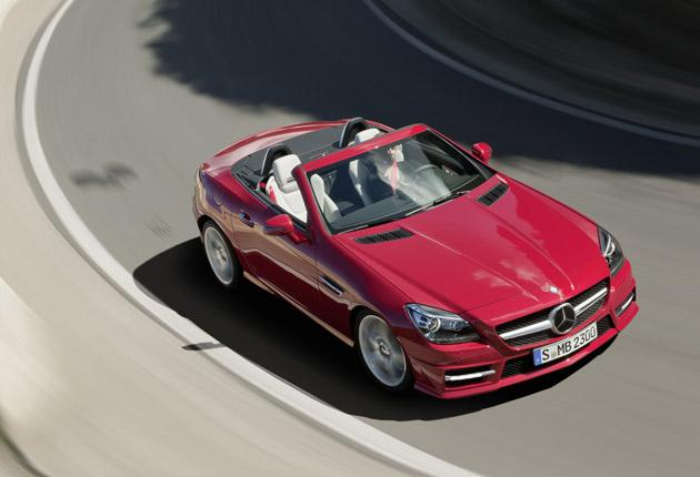 As well as looking the part, the SLK offers an enjoyable drive