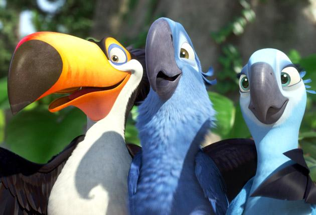 The bird's the nerd: A macaw lost in Rio has his wings clipped by a poor script