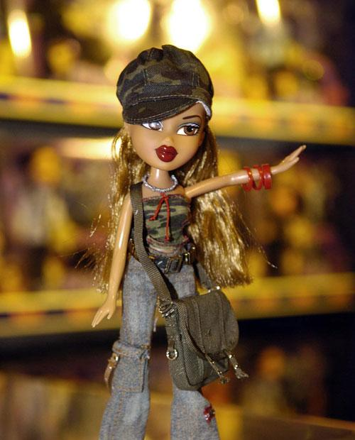 Bratz (above) was launched in 2001, and by 2004 outsold Barbie in the UK