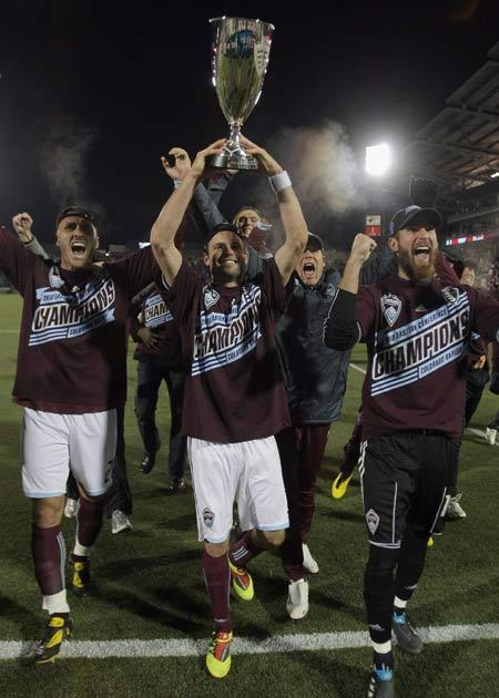 Kroenke's MLS team Colorado Rapids are the reigning champions