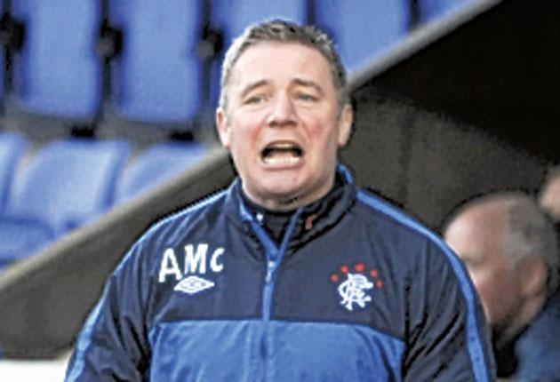 Ally McCoist is appealing against a two-match ban for his touchline scuffle with Neil Lennon