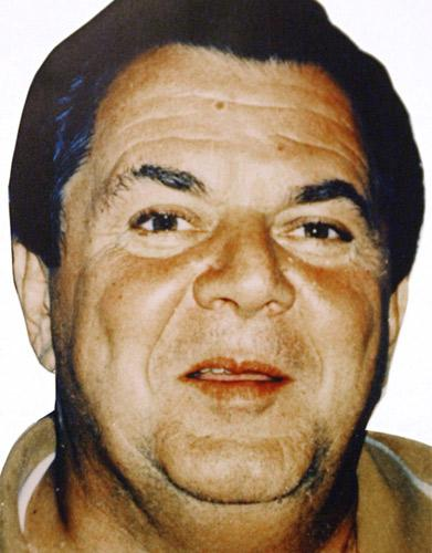 Joseph 'Big Joey' Massino, former boss of the Bonanno crime family