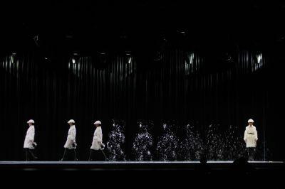 Holograms at Burberry's Beijing show