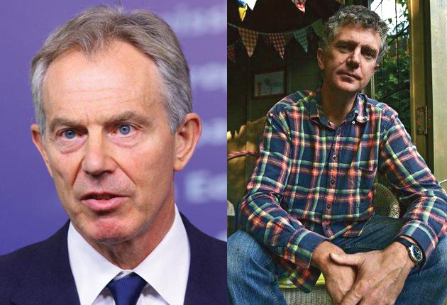 Tony Blair and his former chief of staff Jonathan Powell