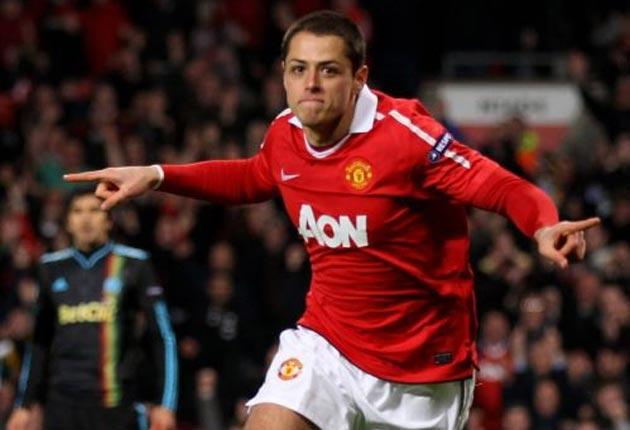 Javier Hernandez: The Mexican forward joined Manchester United from Chivas Guadalajara in a £6m deal last summer