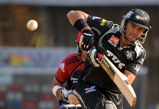 Yuvraj Singh shone with bat and ball in the IPL