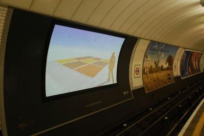 A photo of Art in Motion in London's Underground (http://www.flickr.com/photos/artbelow)