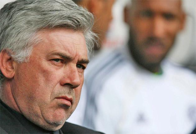 Chelsea manager Carlo Ancelotti was sacked after failing to maintain the club's success last season