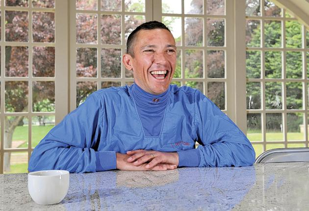 Frankie Dettori loves a good anecdote - especially if he's telling it