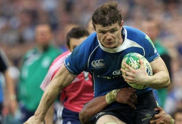 Leinster's Brian O'Driscoll is still ablaze with ambition