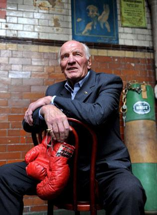 Henry Cooper in later life. He enjoyed universal popularity