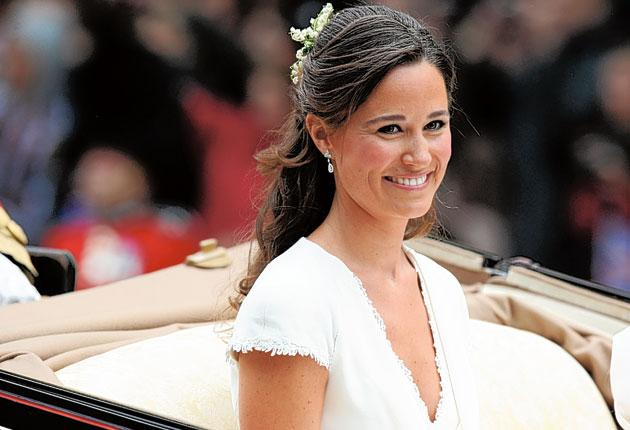 Philippa Middleton is having to adjust to unexpectedly becoming the centre of attention