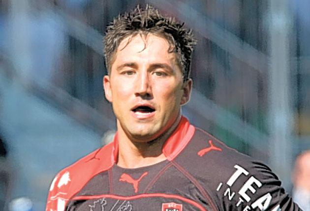 Gavin Henson could be in the Toulon team to face Montpellier on Saturday