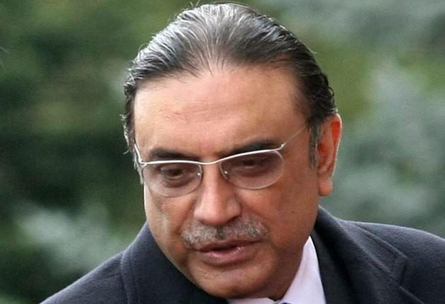 Pakistan's President Asif Ali Zardari did not inform his people of the raid