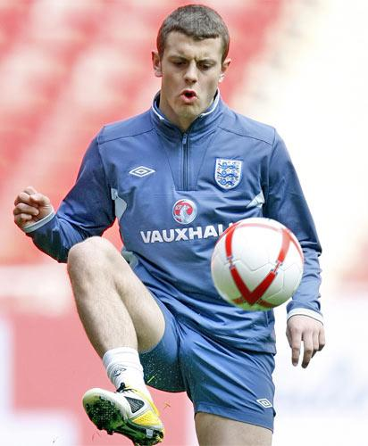 Jack Wilshere is one of five recent full England internationals called up to the European Under-21 Championship squad