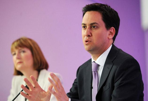 The Labour leader appealed to voters to use tomorrow's elections to send a message to the coalition Government