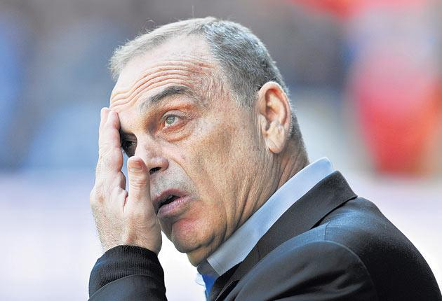 An internet poll on a West Ham fans' website yesterday showed 90 per cent want Avram Grant replaced