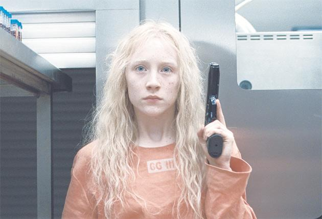 Ethereal killer: Saoirse Ronan in Joe Wright's Hanna